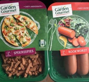 De Vegetarische spekjes en rookworst